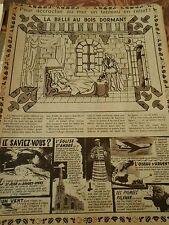 Pour accrocher au mur un tableau La Belle au Bois Dormant Doc/Clipping 1955