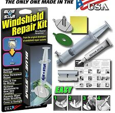 WINDSHIELD  REPAIR KIT STONE DAMAGE CHIP BULLSEYE ROCK CHIP MADE IN USA