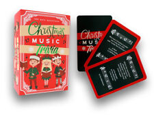 Christmas Music Trivia Card Game (100 Festive Questions)