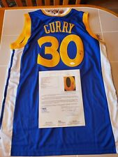 STEPHEN CURRY signed WARRIORS custom jersey JSA COA SIZE XL Full Letter