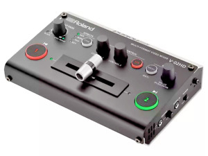 Roland MULTI-FORMAT VIDEO MIXER V-02HD Video Switcher New in Box