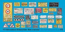 Peddinghaus 1/72 Real Israeli Road / Traffic Signs and Street Name Plates 3428