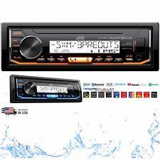 JVC KD-X35MBS Digital Media Marine Stereo USB/AM/FM/AUX/ Bluetooth New KDX35MBS