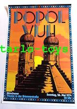 POPOL VUH  - Munchen, Germany 26 maggio 1974   poster concerto