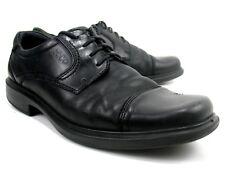 04dc239077e Ecco - Helsinki - Black Soft Leather Oxfords - Cap Toe - Men s Size 11 (