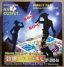 Dance Mat Game A/V Output Direct to TV - New In Box