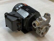 Nikuni 25NPD07A Stainless Steel Regenerative Turbine Pump Used Good Condition
