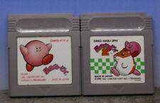Hoshi no Kirby 1&2 Set Nintendo Gameboy Japanese Import Cartridge Only (A)