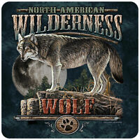 Wolf Wilderness Novelty Sign | Funny Home Décor Garage Wall Plastic Gag Gift