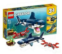 Brand New Sealed LEGO 31088 3-in-1 Creator Deep Sea Creatures 230 Pieces Age 7+