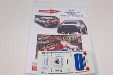 DECALS 1/43 LANCIA DELTA HF INTEGRALE KARAM RALLYE LIBAN 1999 WRC RALLY