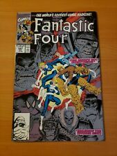 Fantastic Four #347 Direct Market Edition ~ NEAR MINT NM ~ 1990 MARVEL COMICS