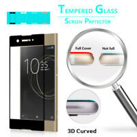 3D Full Cover Screen Protector Tempered Glass For Sony Xperia XA1 G3121 G3123