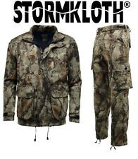 Stormkloth Mens Camouflage Nat Gear Jacket | Trouser Hunting, Shooting, Fishing