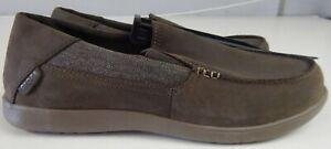Crocs Mens Santa Cruz 2 Luxe Leather Loafers Size 13 US