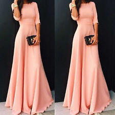 Sexy Womens Elegant Formal Evening Party Cocktail Prom Ball Gown Long Maxi Dress