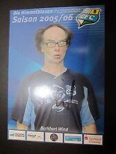 1395 Chemnitzer FC CFC Burkhart Wind 2005 - 2006 original signierte AK
