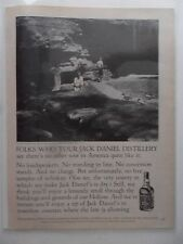 1979 Print Ad Jack Daniel's Tennessee Whiskey ~ The Hollow Distillery
