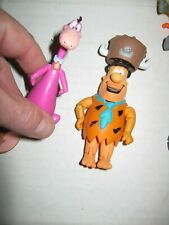 "Hanna Barbera Fred Flintstone & Dino 3"" Action Figure 2012 Jazwares loose mint"