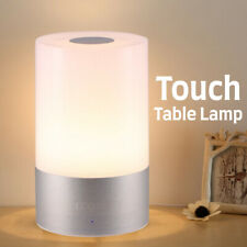 LED Touch Sensor Dimmable Table Lamp Baby Room Sleeping Bedside Night Light WF