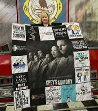 Grey's Anatomy Movie - American medical drama television series v3 Blanket