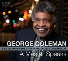 George Coleman - A Master Speaks CD SMOKE SESSIONS