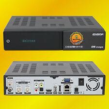 Edision OS Mega,Twin HDTV, DVBS2/DVBT2/DVBCTuner, Wifi, Wlan Bluetooth, Gigabit