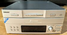 Rare Sony CDP-EX770 Stereo 3 Compact Disc CD multi Changer Player - Untested