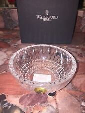 NWT $75 Waterford Crystal Lismore Diamond Round Small Ring Bowl Candy Dish Gift
