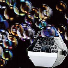 Automatico Deluxe 16 BACCHETTA Bubble Maker Macchina Auto Blower per DJ Festa Bambini Divertimento
