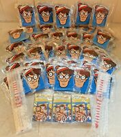 NOS Mixed Lot Where's Waldo Life Cereal Quaker Oats Promotional Items