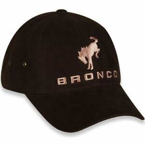 Ford Bronco Logo Brown Canvas Hat * High Quality * Ships Worldwide & FREE to USA