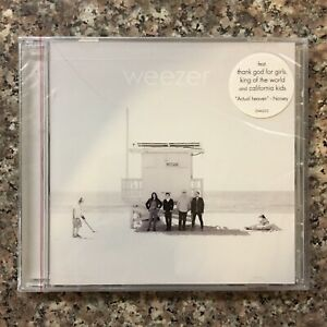 WEEZER WHITE ALBUM 2016 Sealed Self Titled  CD