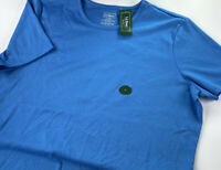 NEW LL Bean Women's Size L - Reg  SS Misses Top Blue Item OVH11 29006