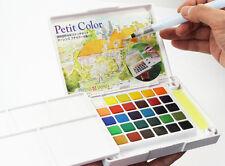 Talens Petit Solid Assorted Transparent Water Colors Field Sketch Pocket Set