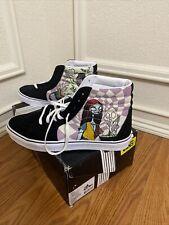 Vans Disney Sk8 Hi Nightmare Before Christmas Sally's Potion Black Sneaker Shoe
