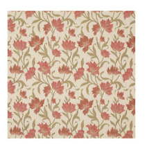 John Lewis Colette Furnishing Fabric, red 80cm long x 138cm wide