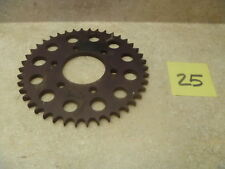 Kawasaki H1 Triple 500 New Black ALLOY Rear Sprocket 1969-1975 42T #DS-25