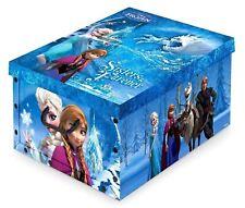 Disney Kids Frozen Storage Toy Box with Handles, Children Organizer 40x50x25cm