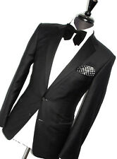 MENS GIEVES & HAWKES LONDON TUXEDO DINNER TAILOR-MADE SLIM SUIT 38R W32 X L30