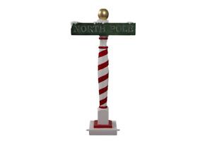 North Pole Sign Christmas Decoration