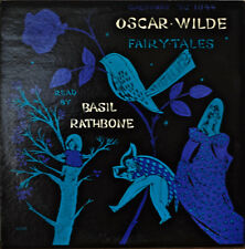 OSCAR WILDE: Fairy Tales-NM1958LP READ BY BASIL RATHBONE CAEDMON LABEL