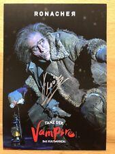 Florian Resetaritis AK Tanz der Vampire Ronacher Autogrammkarte orig. signiert