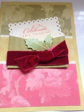 """NIB set of 10 Anna Griffin Gold Faux Wax Seal Letter /""""M/"""""""