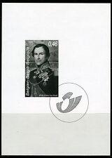 (B) Zwart wit velletje 2006  - Leopold II  (3492)