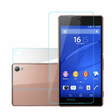 For Sony Xperia Z3 Compact Z Z1 Z2 Z4 Front+Back Tempered Glass Screen Protector
