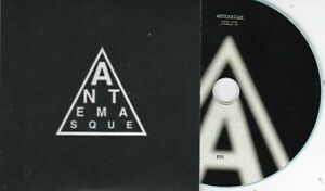 ANTEMASQUE 10 TRACK NUMBERED PROMO CD [AT THE DRIVE IN/MARS VOLTA]