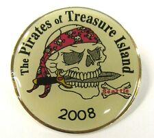 2008 SEATTLE PIRATES OF TREASURE ISLAND tack pin pinback button b1