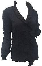 Figurbetonte Hüftlang Damenblusen,-Tops & -Shirts mit Rüschen für Party