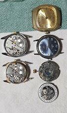 lotto orologi  vintage  MOVIMENTO  FE 233 Breil  ok per ricambi